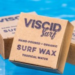 Viscid Surf, Surf Wax, Organic, Hand-poured, Eco Friendly